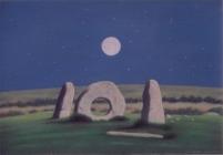 Moonrise: Men-an-tol