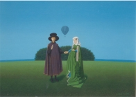The reincarnation of Mr & Mrs Arnolfini